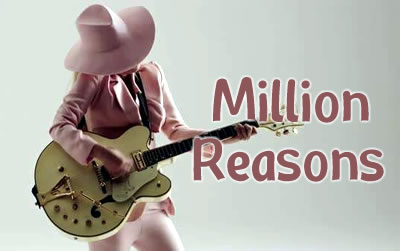 lady gaga《million reasons》吉他谱吉他谱